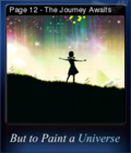 But to Paint a Universe Card 05