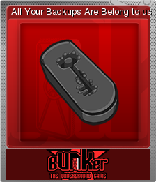 Bunker - The Underground Game Foil 02