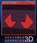 Spaceman Sparkles 3D Card 3