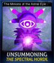 UnSummoning the Spectral Horde Card 3