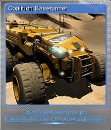 Homeworld Deserts of Kharak Foil 01