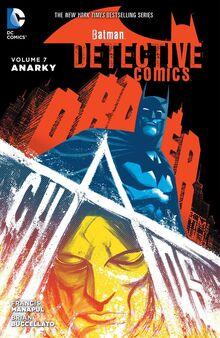 Detective Comics Anarky cover