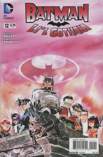Batman lil gotham 12 cover