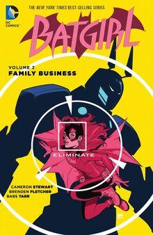 Batgirl Family Business cover