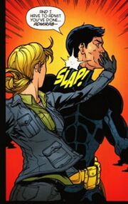 Bruce Wayne The Road Home Batgirl (04)panel