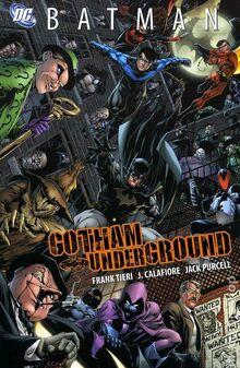 Gotham Underground TPB cover