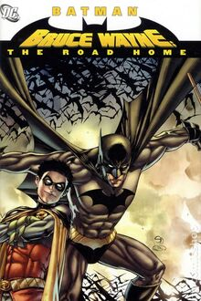 Bruce Wayne - The Road Home TPB cover