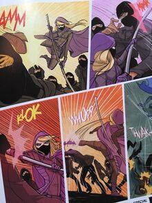 Batgirl 46 Steph panels b
