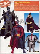 Batman battle reborn toy line