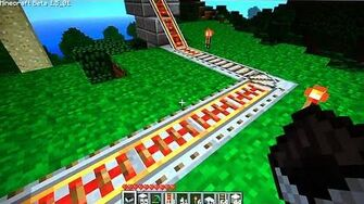 Minecraft Monorail (Day 542 - 5 20 11)