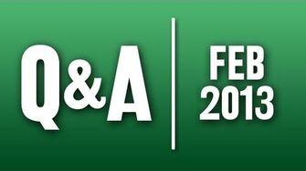 StephenVlog Q&A - February 2013