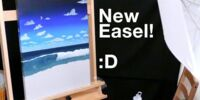 Brand New Easel (Day 2448 - 8/7/16)