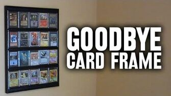 Discontinue the Card Frame (Day 1034 - 9 23 12)