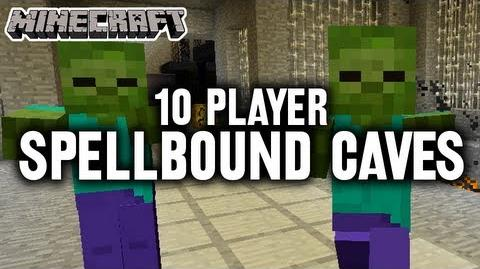 Spellbound Caves (10 Players) - Minecraft