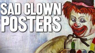 Sad Clown Posters (Day 1886 - 1 23 15)