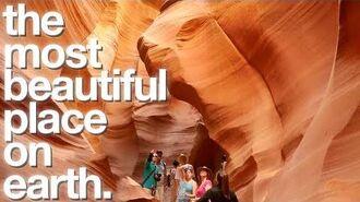 Antelope Canyon -4K Vlog- • 5.26.17