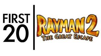 Rayman 2 - First20 (with Josh Jepson)
