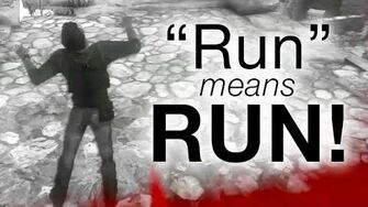 Run Means RUN!