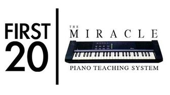 Miracle Piano Teaching System - First20