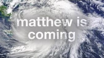 Hurricane Matthew is Coming • 10.5
