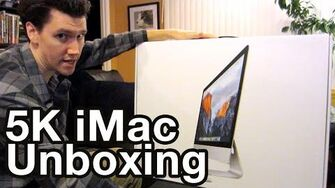 IMac Unboxing (Day 2235 - 1 7 16)