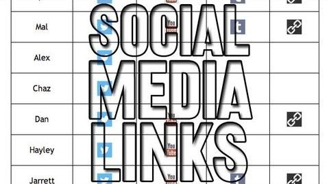 Social Media Links (Day 1379 - 9 3 13)