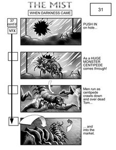 Mist storyboard