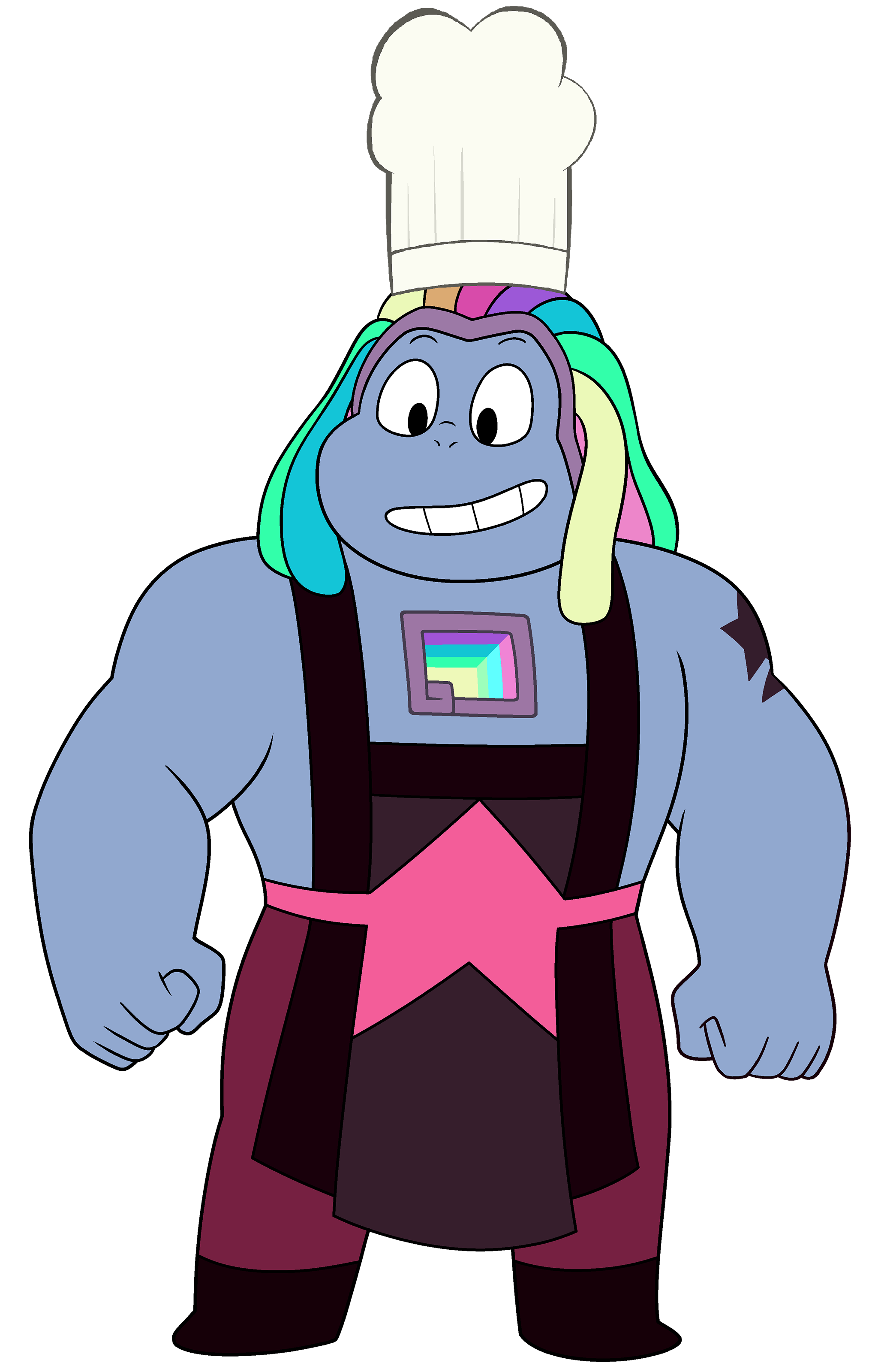 Bismuth with Chef Hat (Reupload)