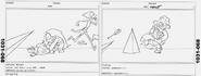 Friend Ship storyboards by Jeff Liu 5