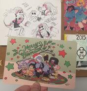 Crewniverse 2015 Christmas Card