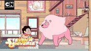 Lion Comes to Play Steven Universe Cartoon Network