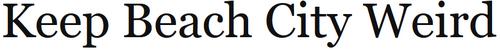 Блог Рональдо «Храним странности Прибрежья» (англ.)