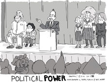 Political Power Promo by Hilary Florido