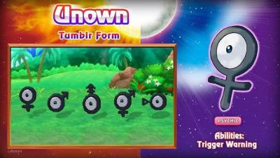 Unown tumblrforms
