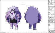Tiger Millionaire Purple Puma Model Sheet
