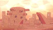Steven's Lion Sand Landscape