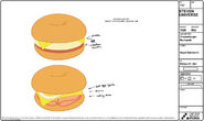 Cheeseburger Backpacks Model Sheets (4)