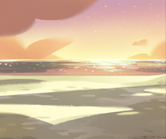 Ocean Sunset Color Key