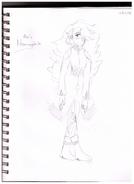 Hemimorphite Sketch 2