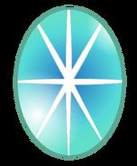 Teal Zircon Gem (Green Star Sapphire)