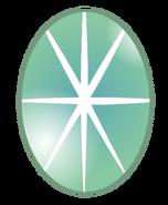 Green Star Sapphire Gem