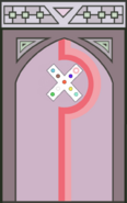 Temple Door (Rhodochrosite)