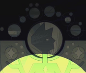 Yellow Diamond Moon Base Picture