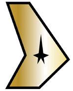 USS Defiant Command Insignia