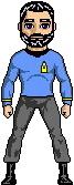 Lieutenant R. MacRoberts-MacAllister - USS Intrepid II