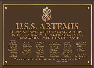 File:Defiant Class Artemis Dedication Plaque.png