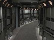 Starfleet Curved Corridor