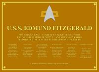 EdmundFitzgeraldPlaque