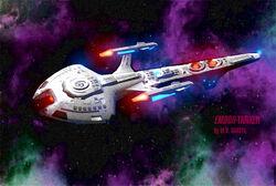Emdor starship