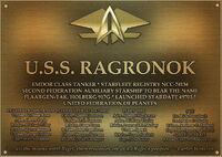 Ragronok plaque